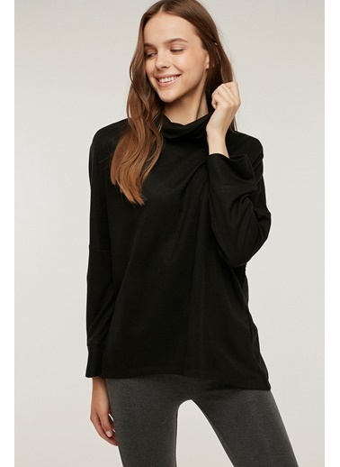 Penti Hot Tech Active Sweatshirt Siyah